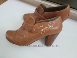Кожаные туфли ботильоны Roberto Santi