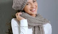 Комплект берет шарф Damart