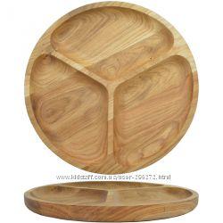 Кухонная посуда из дерева тарелки, ложки, вилки и многое др.
