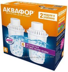 Комплект сменных картриджей Аквафор B100-6 2шт