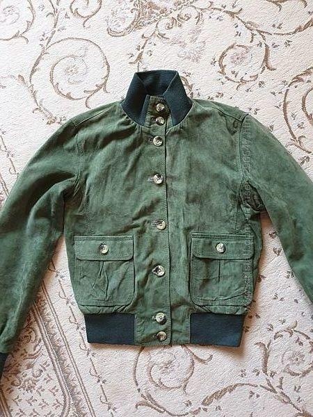 Куртка замша, р. XS