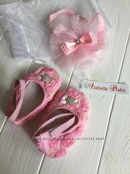 Пинетки и повязка для принцессы