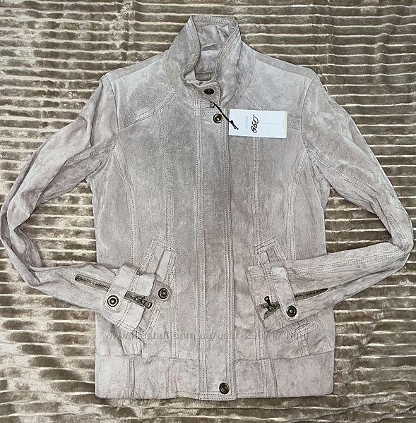 Куртка замшевая Bershka