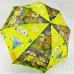 Детский зонт Миньоны. Посипака. Гадкий Я.
