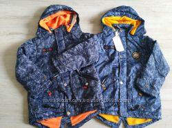 Новая стильная демисезонная куртка для мальчиков 128, 134,140, 146 Венгрия.