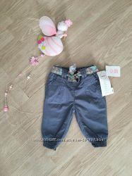 Модные штаники C&A для маленькой модницы на 3-6 мес. Рост 68см