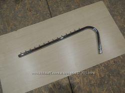 Хромированная флейта кронштейн держатель на 14 крючков гусак оборудование
