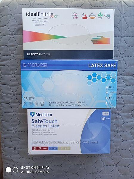 Перчатки Medicom Safe Touch наличии