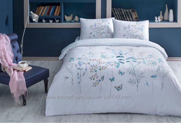 Комплекты постельного белья евро ранфорс TAC Турция