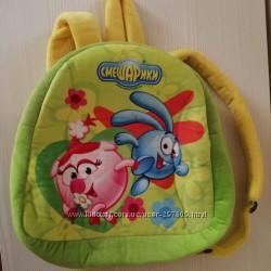 Рюкзак детский Смешарики плюшевый, новый, Киев