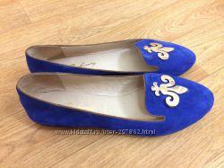 Туфли синие новые