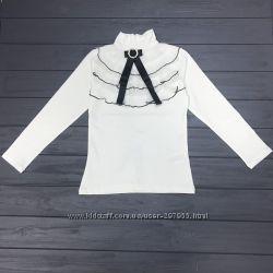 Белые блузы, гольфы, обманки для девочек в школу, Турция. В наличии