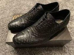 Питоновые туфли Roberto Cavalli