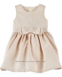 Жаккардовое платье Carters 12м картерс с трусиками