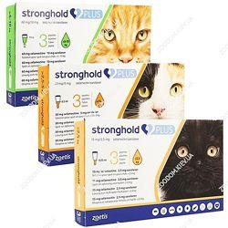 Стронгхолд Плюс для котов и кошек