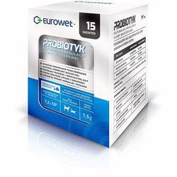 Eurowet пробиотик для регуляции микрофлоры кишечника 15 шт