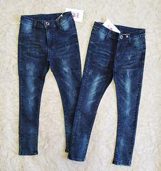 Отличные джинсы джеггинсы для девочек