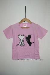 Комплект пижама шорты плюс футболка. 92-98, 104-110