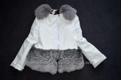 куртка косуха с натуральным мехом