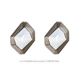 Серьги гвоздики. Swarovski Elements Jewelry