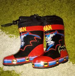 Резинові чобітки Бетмен Шалунішка