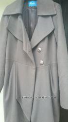 Модельное пальто Raslov кофе с молоком, 50 размер