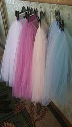 Многослойные юбки из фатина  - шопэновки