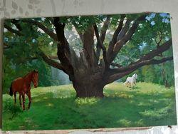 Картина Запорожский дуб
