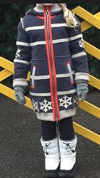 Натуральная дублёнка для девочки SUSSEXТурция,6-8 лет