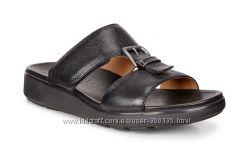 Новые кожаные шлепанцы сандалии ECCO оригинал 42 размера