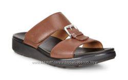 Новые кожаные шлепанцы сандалии ECCO оригинал 42 и 44 размера