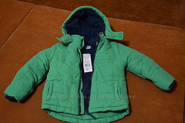 Новая зимняя куртка F&F на мальчика 2-3 года
