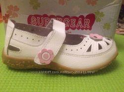 Кожаные туфли SUPER GEAR 28 р-р 17, 5 см