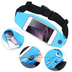 Чехол сумка спортивный для телефона смартфона на пояс