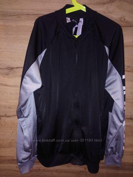 Спортивный бомбер олимпийка Adidas р. 164 13-14лет