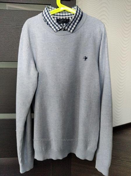 Отличный свитер - обманка от next 12-15 лет