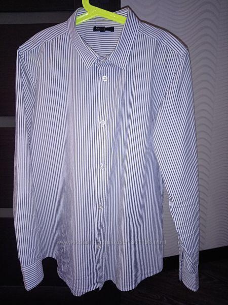 Рубашка M&S Autograph 12-13 лет в отличном состоянии