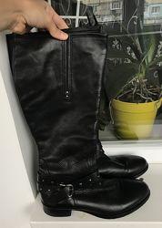 Кожаные сапоги 40-41 размер vero cuoio оригинал