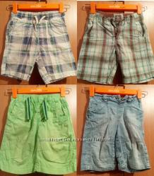 Фирменные шорты Next, L. O. G. G. H&M 5-8 лет