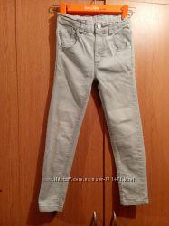 Серые джинсы скини  George 122-128 см 7-8 лет