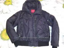 Черная куртка-пуховик 48 р-р
