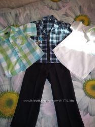 Комплект рубашек и брюки