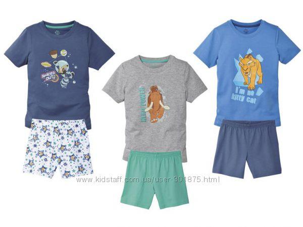 Летние пижамки Ice Age р. 2-4, 4-6 лет.
