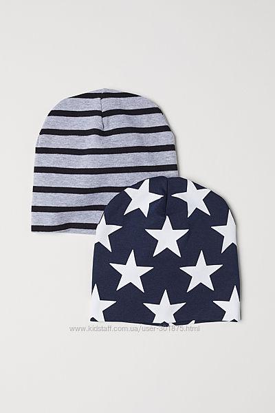 Набор деми- шапочек H&M р. 1, 5-4 г. и 4-8 лет.
