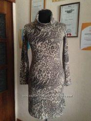 Распродажа теплое платье туника. обмен