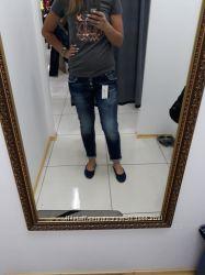 Новые джинсы 28 размер Турция черепа