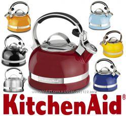 Чайник с свистком Наплитный KitchenAid KTEN20S 1, 9литра Оригинал Цвета разн
