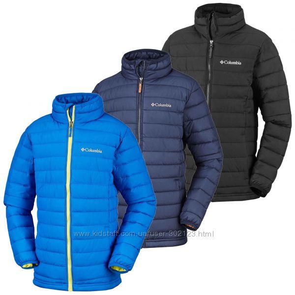 Columbia куртка деми легкая теплая 116 XS 5-7 лет Omni-heat