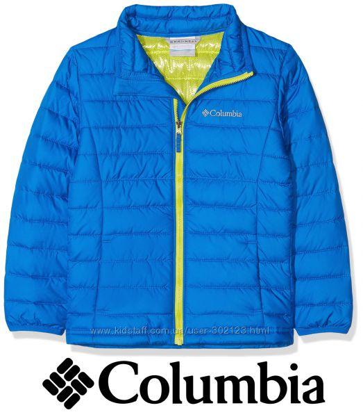 Columbia куртка деми легкая теплая 112 xs 5-7 лет omni-heat