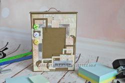 Выпускной фотоальбом ручной работы